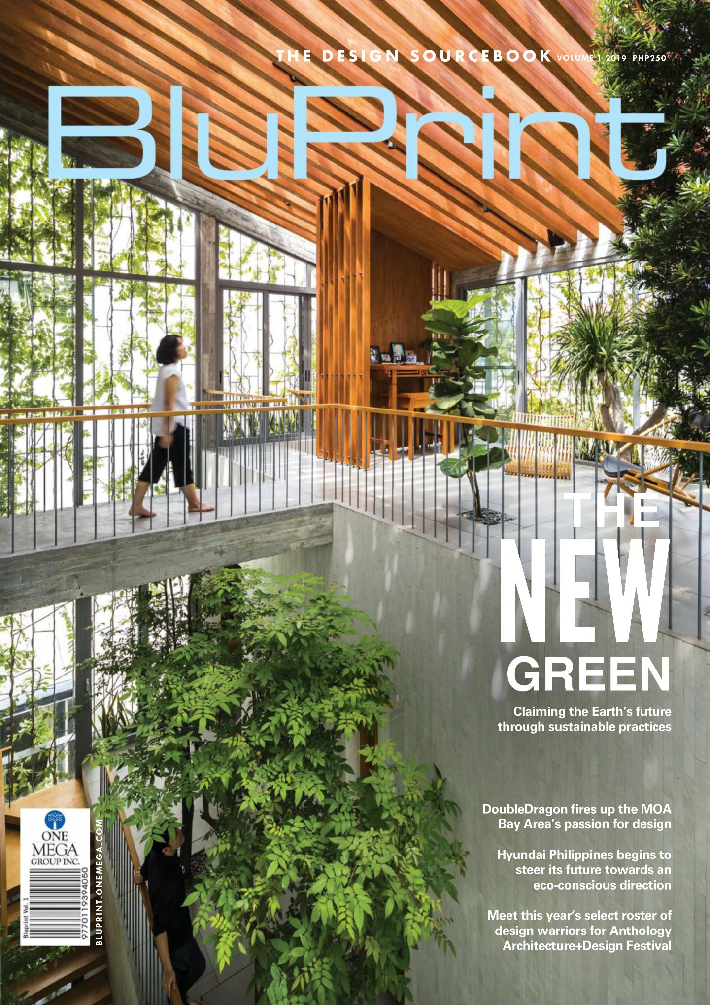 BluPrint Magazine Cover